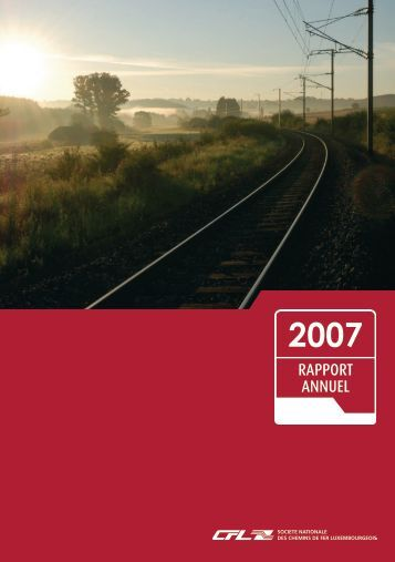 Rapport Annuel 2007 - CFL