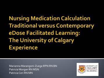 facilitation of learning nursing