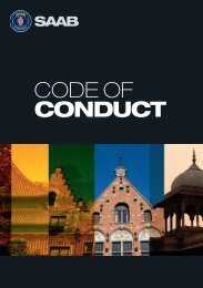 Read our Code of Conduct, in English - Saab