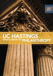 UC HASTINGS - Hastings College of the Law