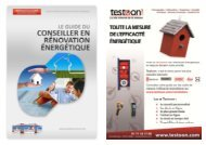 Chapitre 1 : Les professionnels de la rénovation énergétique