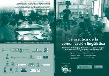 La práctica de la comunicación lingüística - CPR Ceuta