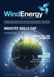 Maximising hydraulic system performance - Wind Energy Network