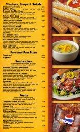 Starters, Soups & Salads - Pizza Hut RGV
