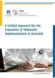 A Unified Approach for the Evaluation of Telehealth Implementations ...