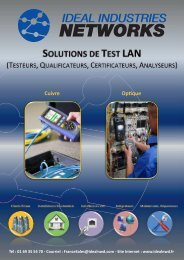 LAN Solutions Brochure French