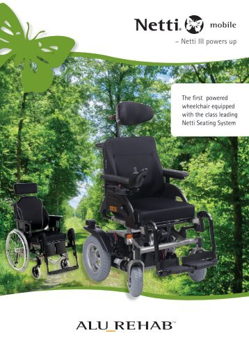 Brochure Netti Mobile - Power Wheelchair - Alu Rehab