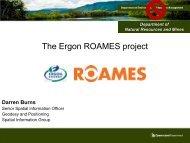 The Ergon ROAMES project - Data Smart