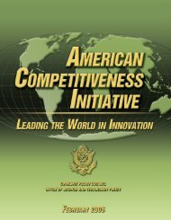 American Competitiveness Initiative - Task Force on American ...