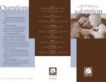 Adoption Brochure - Nebraska Children's Home Society