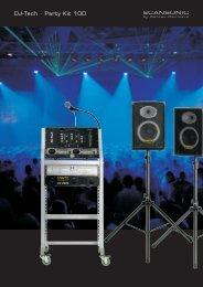 DJ-Tech · Party Kit 100 - Dantax