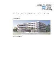 Bericht Preisgericht - Alterszentrum Obere Mühle AG