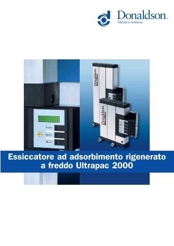 Ultrapac 2000 Heatless Desiccant Air Dryer ... - Michele Caroli Srl