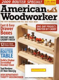 American Woodworker 2009 Feb/Mar (pdf, 14076 Кб - Wood Tools