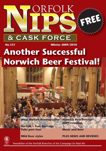 Another Successful Norwich Beer Festival! - Norwich and Norfolk ...