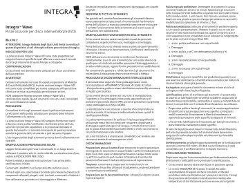 Integra™ Wave - Integra LifeSciences