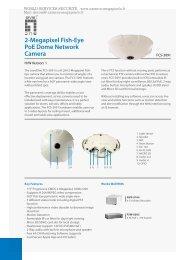 2-Megapixel Fish-Eye PoE Dome Network Camera