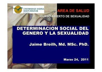 Para ver presentación, haga clic aquí - Universidad Andina Simón ...