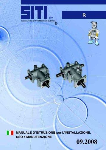 Catalogo istruzioni - Tecnica Industriale S.r.l.