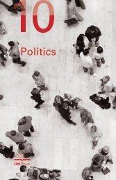Politics - UBC Press - University of British Columbia