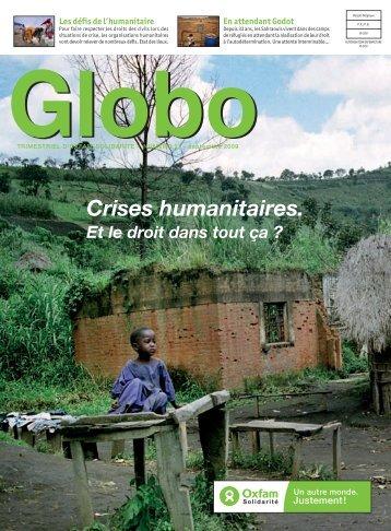 Globo 27 : Crises humanitaires. Et le droit dans tout ça