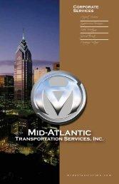 corporate services brochure - Mid-Atlantic Limousine