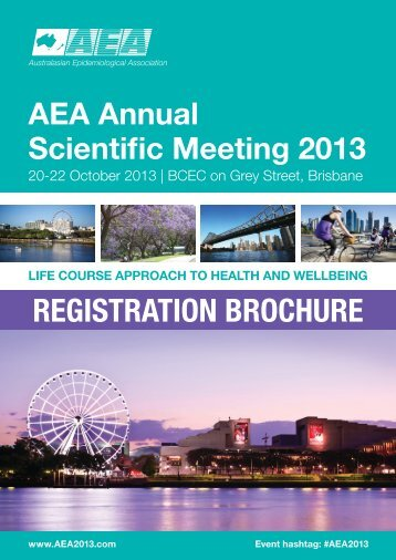 AEA 2013 Registration Form