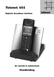 Handleiding Telenet 405 - Klantenservice