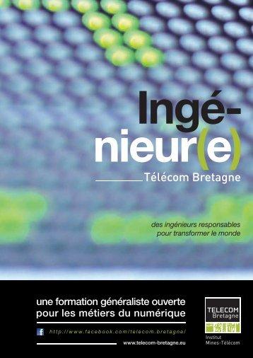 formation d'ingénieur généraliste - Télécom Bretagne