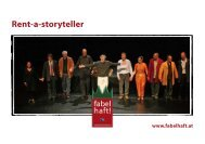 Rent-a-storyteller - fabelhaft!