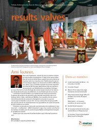results valves - Metso