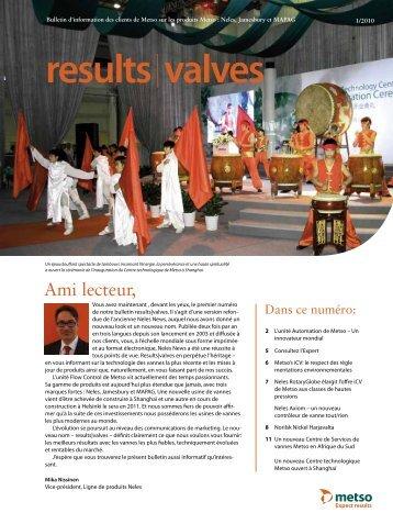 results valves - Metso