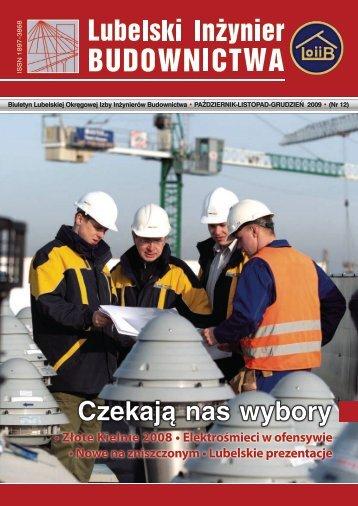 Nr 12. Pobierz w formacie PDF - Lubelska Okręgowa Izba ...