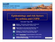Epidemiology and risk factors-Viegi - World Allergy Organization