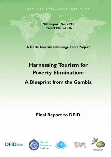 Harnessing tourism for poverty elimination: A ... - Harold Goodwin