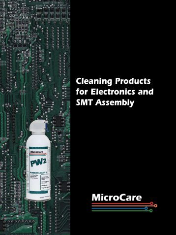 Cleaning Products for Electronics and SMT Assembly - The Export ...