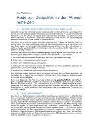 Download Rede zur Zeitpolitik in der »Abendreihe Zeit - Deutsche ...