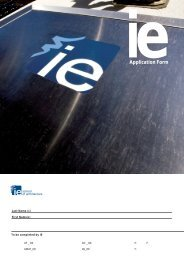 IEs Admissions Archi.fh11 - Master in Architectural Management and ...