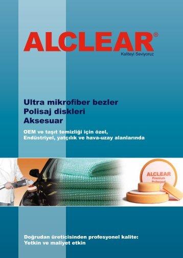Ultra mikrofiber bezler Polisaj diskleri Aksesuar - ALCLEAR