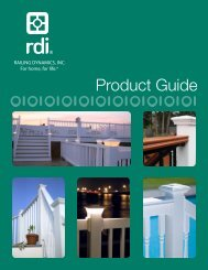 RDI Product Guide - Huttig Building Products