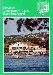 100 Jahre TVK - Turnverein 1877 e.V. Essen-Kupferdreh