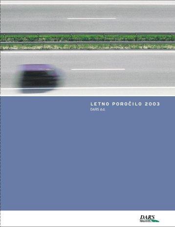 za leto 2003 - Dars