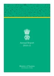 Annual Report 2010-11 - Ministry of Tourism
