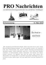 PRO Nachrichten - Herz Jesu Fechenheim