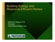 Energy Efficient Homes - Town of Andover, MA