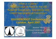 The Concept of Place in the US National Geography Standards and ...