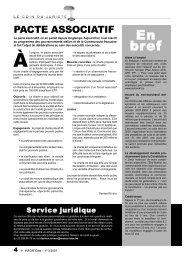 N°3/2007 - Réseau IDée