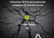 Jörgen Sabel, Swerec - Avfall Sverige