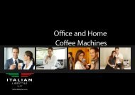 Office and Home Coffee Machines