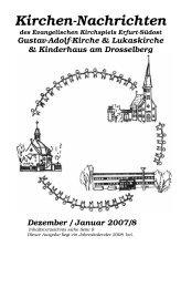 12 / 01 - Evangelische Kirchen in Erfurt